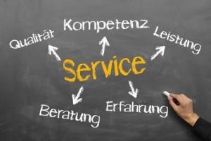 Wir bieten Ihnen einen super Service!