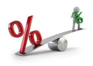 Zinslast abwiegen