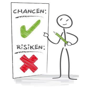 Chancen und Risiken abwiegen
